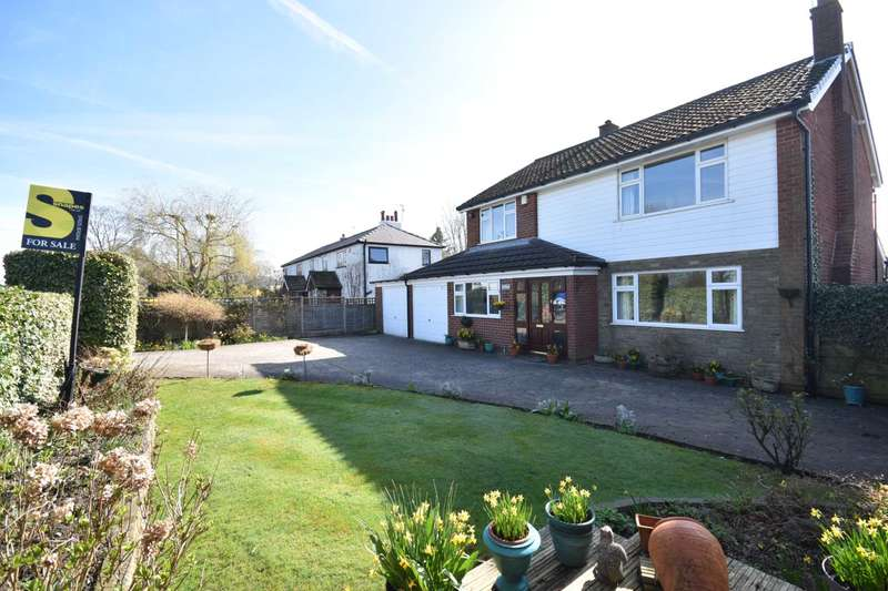 4 Bedrooms Detached House for sale in CHESTER ROAD, POYNTON