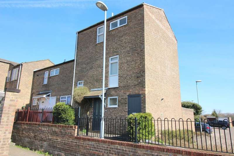 4 Bedrooms End Of Terrace House for sale in Denmark Close, Luton, Bedfordshire, LU3 3UE