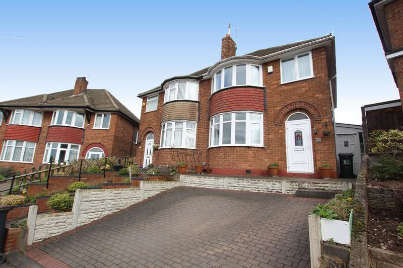 3 Bedrooms Semi Detached House for sale in Sandwood Drive, Birmingham, B44 8SD