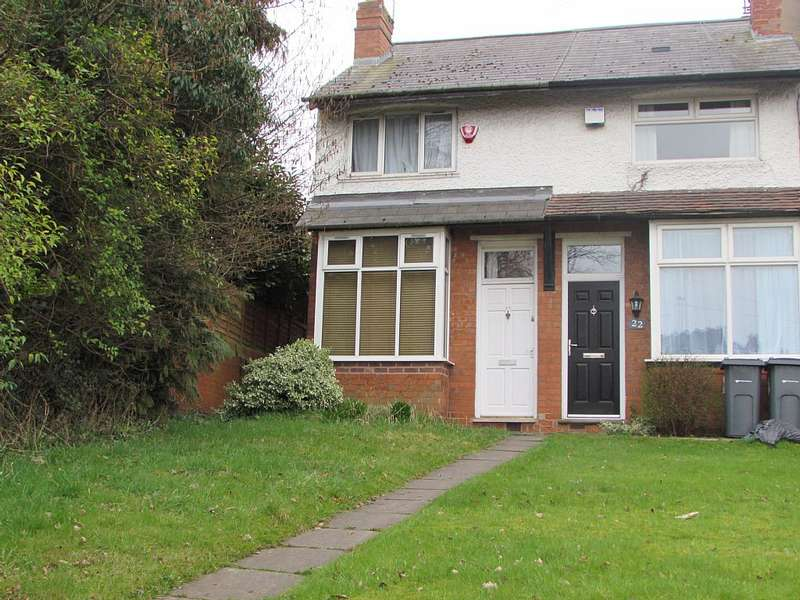 2 Bedrooms End Of Terrace House for sale in Parsons Hill, Birmingham, West Midlands, B30