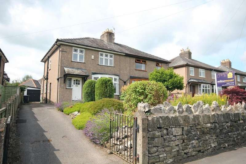3 Bedrooms Semi Detached House for sale in 13 Burton Road, Kendal
