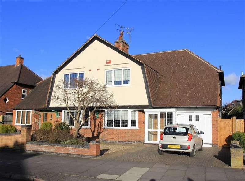 3 Bedrooms Semi Detached House for sale in Kingsmead Road, South Knighton, Leicester