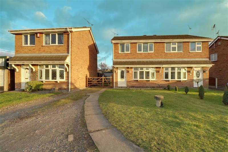3 Bedrooms Semi Detached House for sale in Rochester Crescent, Sydney, Crewe
