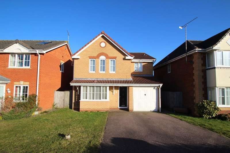 4 Bedrooms Detached House for sale in Haughley Drive, Rushmere St Andrew, Ipswich, IP4