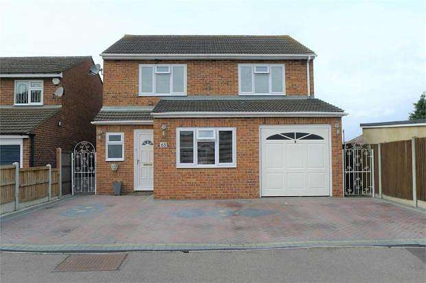 3 Bedrooms Detached House for sale in Louise Gardens, Rainham, Essex, RM13