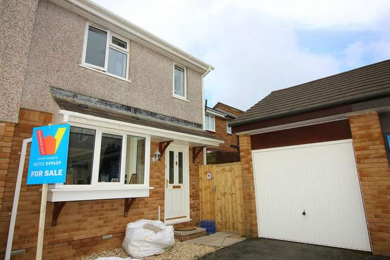 3 Bedrooms Semi Detached House for sale in Hallett Close, Latchbrook, Saltash