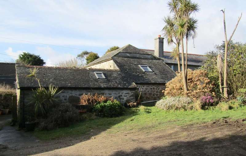 5 Bedrooms Barn Conversion Character Property for sale in Country Barn with Land, Vorvas, Lelant, St. Ives TR26