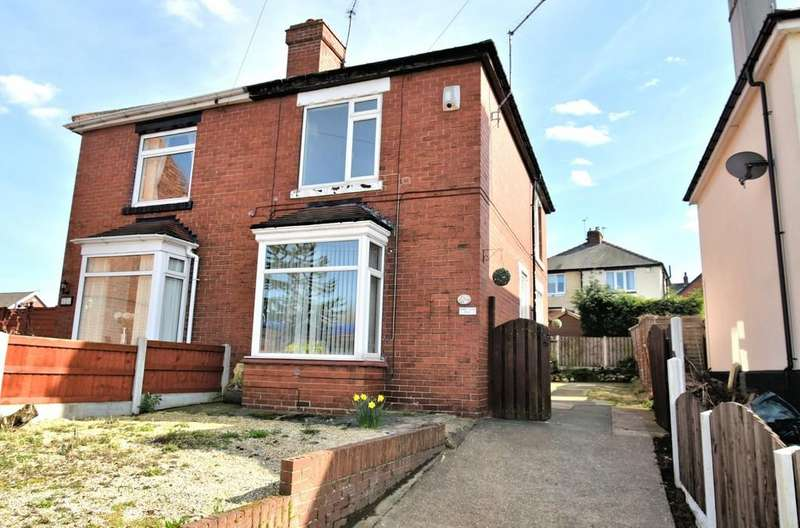 2 Bedrooms Semi Detached House for sale in Doncaster Road,Conisbrough,DN12