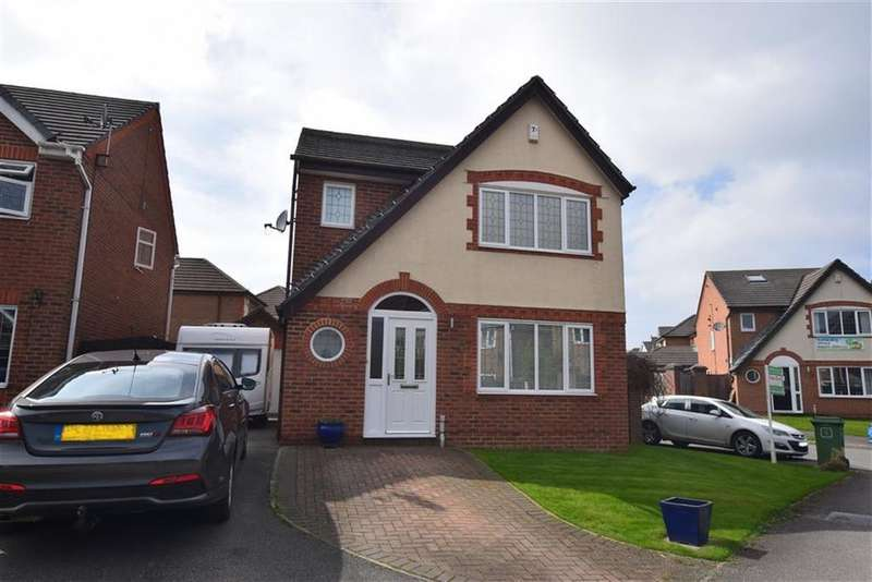 3 Bedrooms Detached House for sale in Greenfield Cres, Grange Moor, Wakefield, WF4
