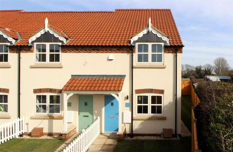 2 Bedrooms End Of Terrace House for sale in Plot 1, Rudds Yard, Nafferton, Driffield