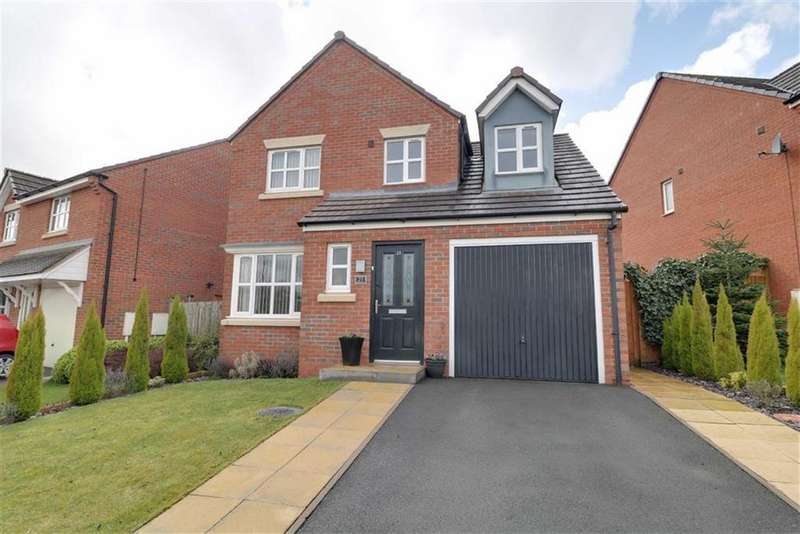 3 Bedrooms Detached House for sale in Essington Way, Brindley Village, Stoke-on-Trent