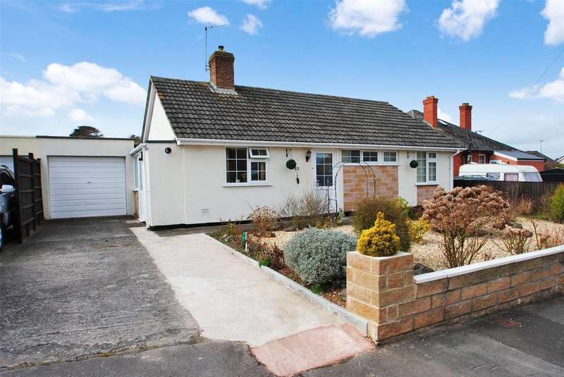 2 Bedrooms Detached Bungalow for sale in Laxton Close, Taunton