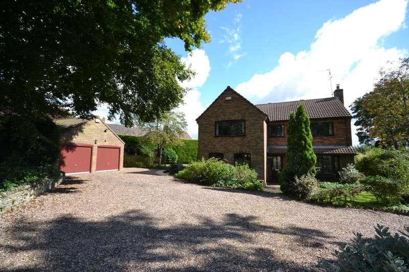 4 Bedrooms Detached House for sale in Draughton Road, Maidwell, Northampton, NN6