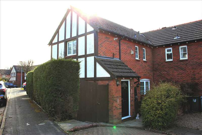 2 Bedrooms Semi Detached House for sale in Sutton Close, Macclesfield
