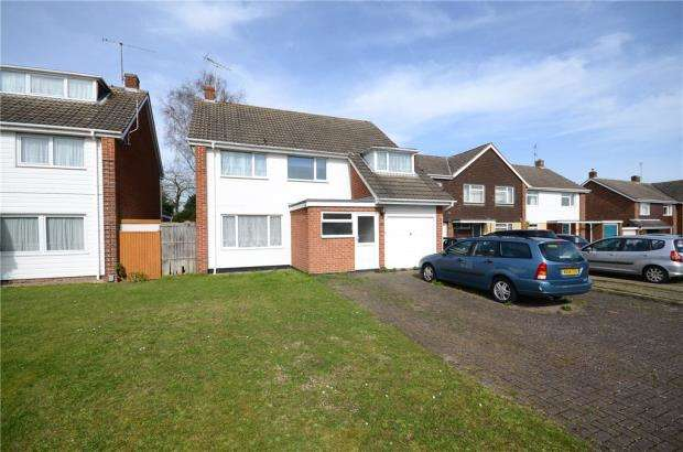 4 Bedrooms Detached House for sale in Cornfield Road, Woodley, Reading