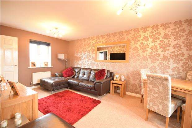 2 Bedrooms Flat for sale in 10 Wood Mead, BRISTOL, BS16 1GQ