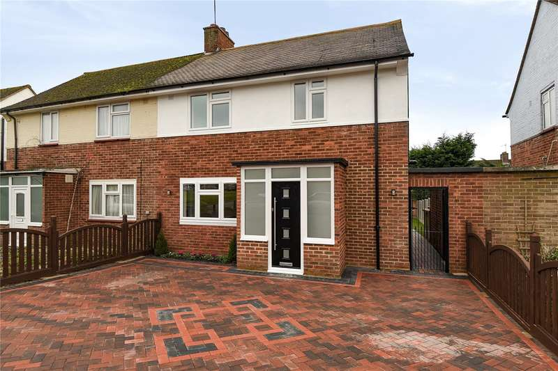 3 Bedrooms Semi Detached House for sale in Chippenham Close, Pinner, Middlesex, HA5