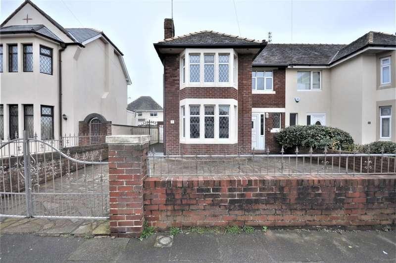 3 Bedrooms Semi Detached House for sale in Bentinck Avenue, South Shore, Blackpool, Lancashire, FY4 1SB