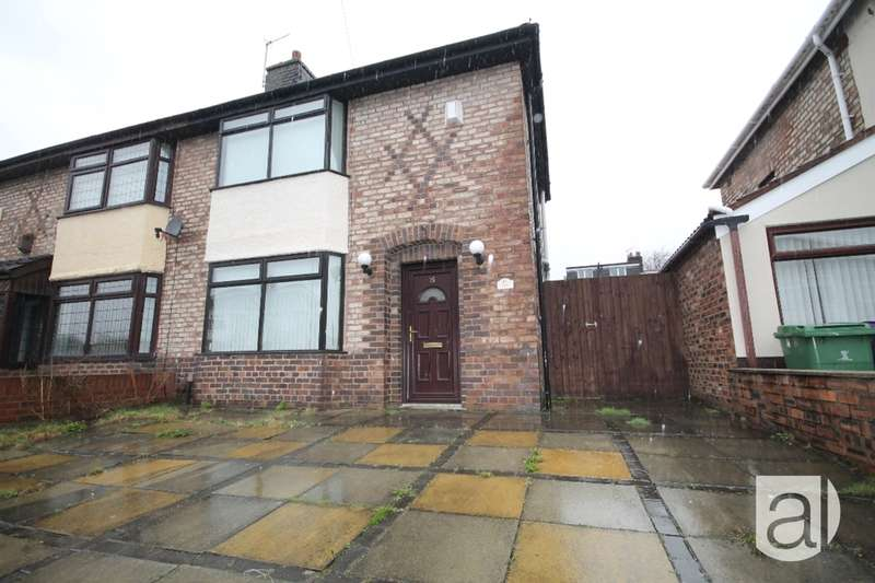 2 Bedrooms Semi Detached House for sale in Hildebrand Close Anfield L4