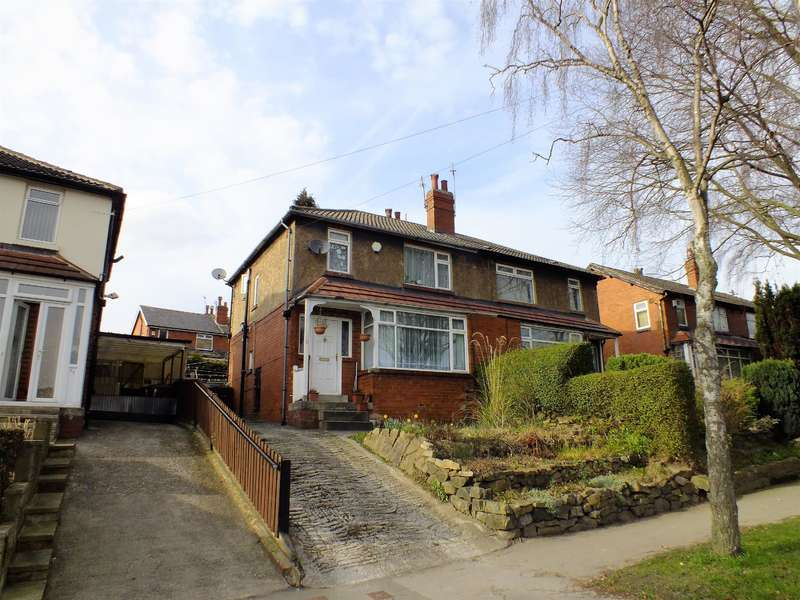 3 Bedrooms Semi Detached House for sale in Stainbeck Road, Leeds, West Yorkshire, LS7 2PR