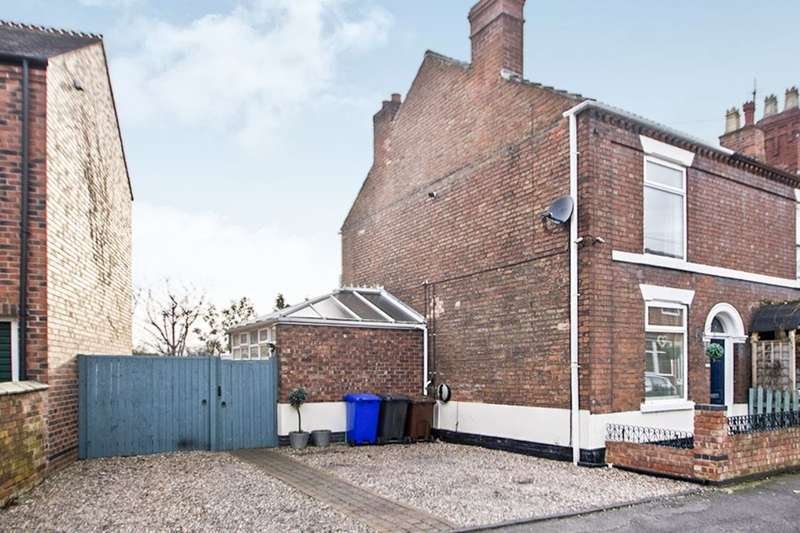 2 Bedrooms Semi Detached House for sale in Lawson Avenue, Long Eaton, Nottingham, NG10