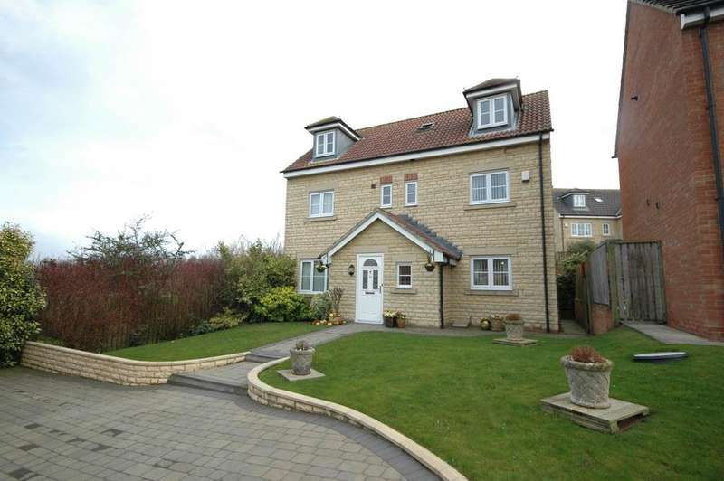 5 Bedrooms Detached House for sale in Cheviot View, Windy Nook