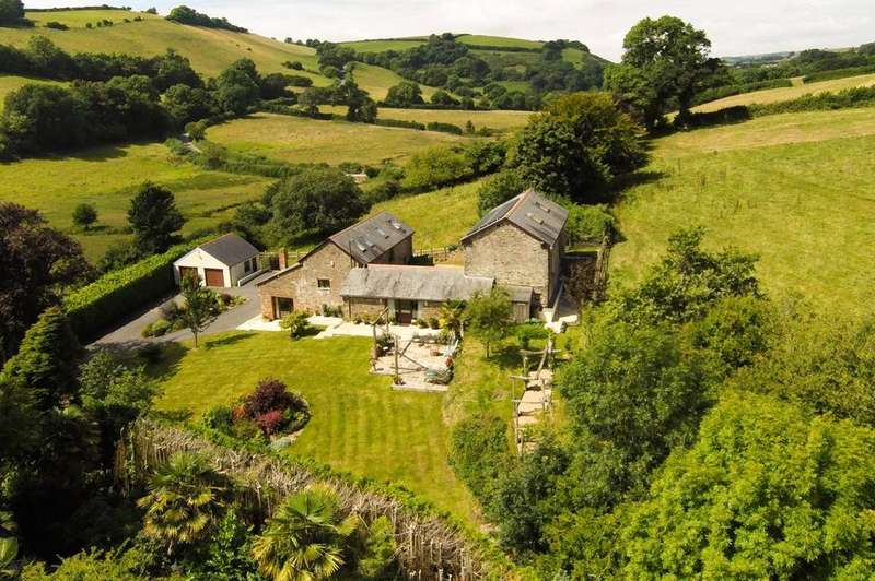 5 Bedrooms Barn Conversion Character Property for sale in Butterwell Barn, Modbury, Devon, PL21