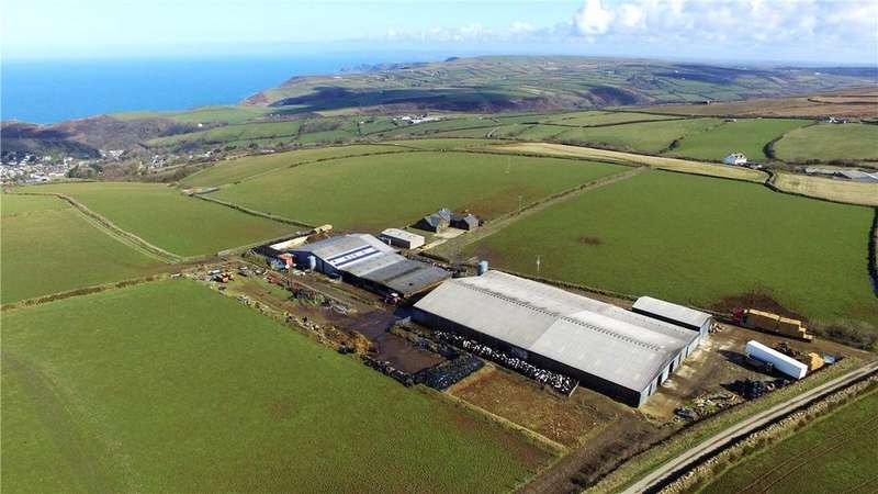 Farm Commercial for sale in Minster, Boscastle, Cornwall, PL35