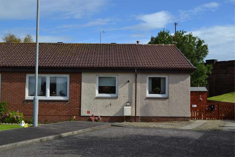 4 Bedrooms Semi Detached Bungalow for sale in 19 Shellbridge Way, Ardrossan, KA22 8LP