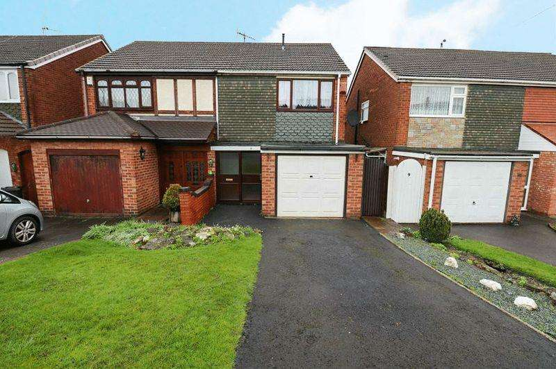 3 Bedrooms Semi Detached House for sale in Rainham Close, Tipton
