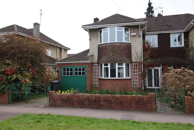 3 Bedrooms Semi Detached House for sale in Cleeve Wood Road, Downend, Bristol, BS16 2SH