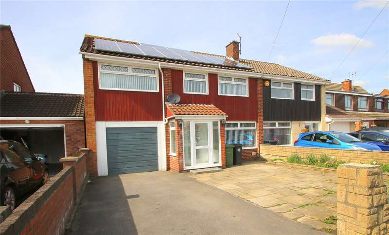 4 Bedrooms Semi Detached House for sale in Stockwood Lane BRISTOL BS14