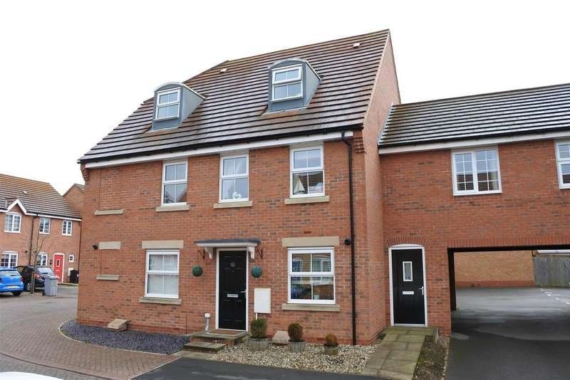 3 Bedrooms Detached House for sale in Hathersage Close, Grantham