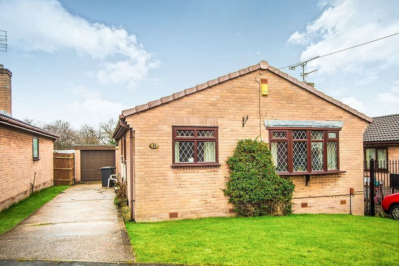 2 Bedrooms Detached Bungalow for sale in Elmdale Close, Swinton, Mexborough, S64
