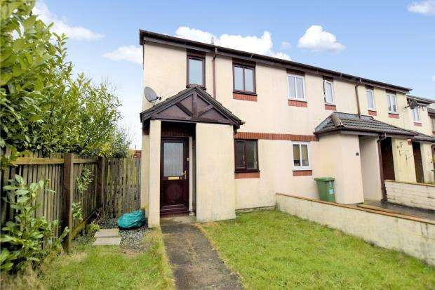 2 Bedrooms End Of Terrace House for sale in Goldsmith Gardens, Plymouth, Devon
