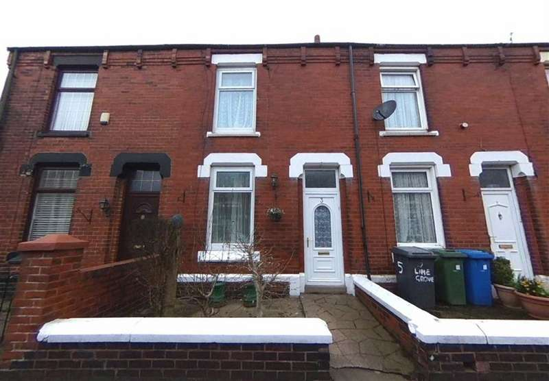 2 Bedrooms Terraced House for sale in Lime Grove, Denton, Manchester