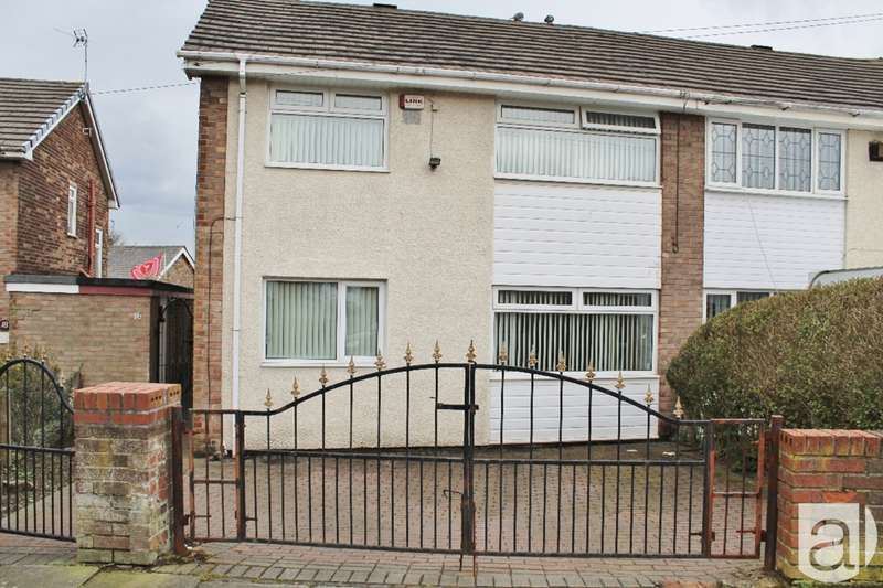3 Bedrooms Semi Detached House for sale in Gregson Road Prescot L35
