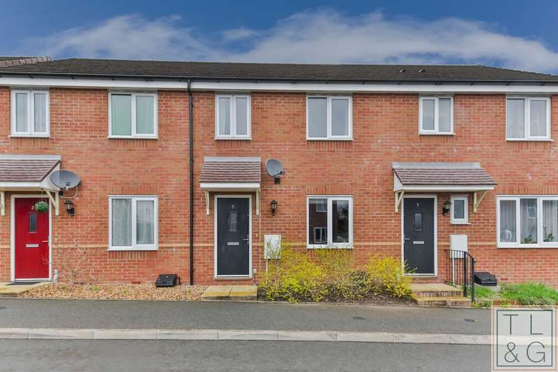 3 Bedrooms Terraced House for sale in Pippin Croft, Evesham