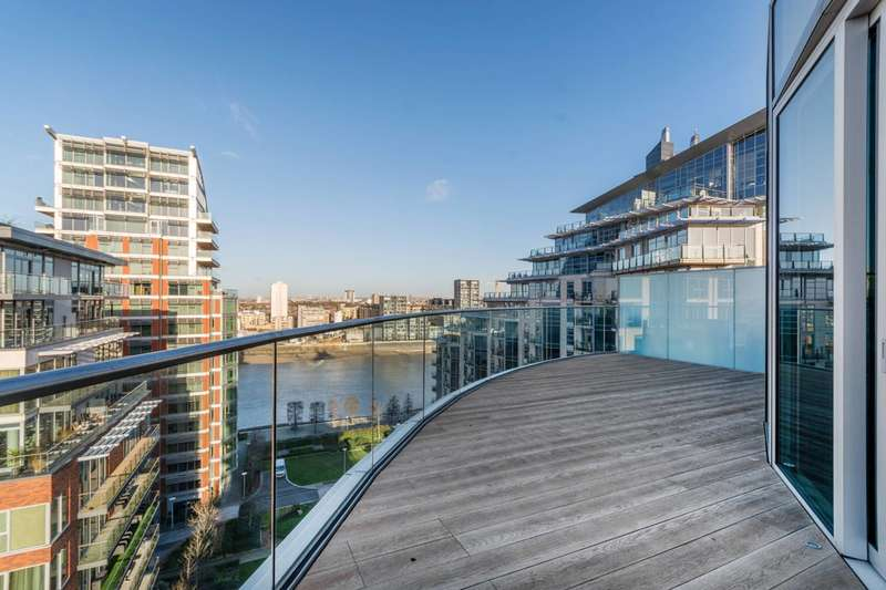3 Bedrooms Flat for sale in Pinnacle House, Battersea Reach, Battersea, SW18