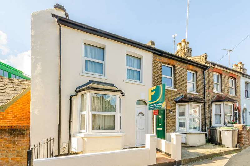 2 Bedrooms End Of Terrace House for sale in Cumberland Road, Wood Green, N22