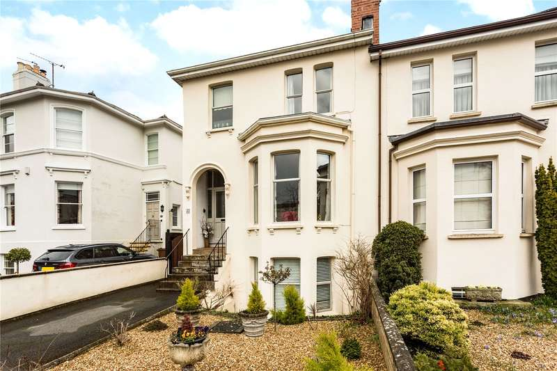 4 Bedrooms Semi Detached House for sale in Leckhampton Road, Cheltenham, Gloucestershire, GL53