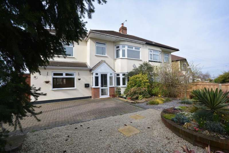 4 Bedrooms Semi Detached House for sale in Southend Arterial Road, Hornchurch RM11