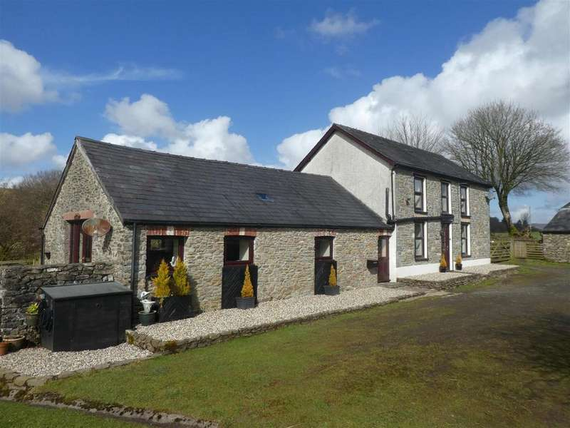4 Bedrooms Smallholding Commercial for sale in Pumsaint, Nr Lampeter