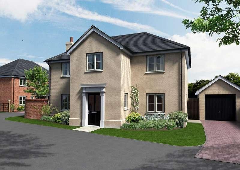 4 Bedrooms Detached House for sale in Bee Tree Gardens, Needham Road, Stowmarket, IP14
