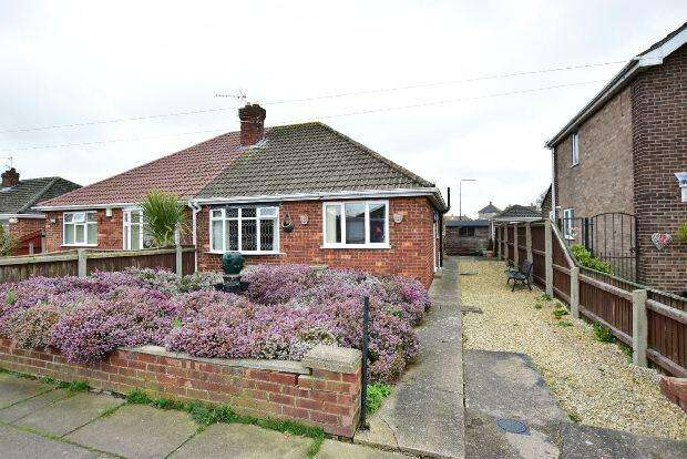 2 Bedrooms Semi Detached Bungalow for sale in Fallowfield Road, Grimsby