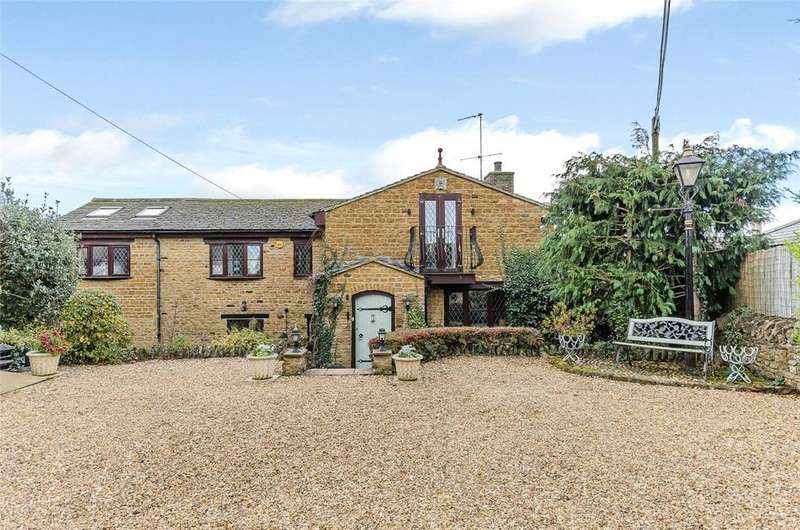 4 Bedrooms Detached House for sale in Silver Street, Brixworth, Northamptonshire, NN6