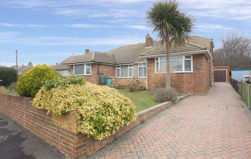 2 Bedrooms Semi Detached Bungalow for sale in The Ridgeway, Broadstairs