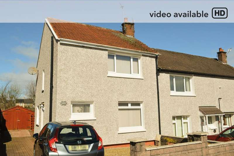 3 Bedrooms Semi Detached House for sale in Milton Gardens, Whins of Milton, Stirling , FK7 0JN