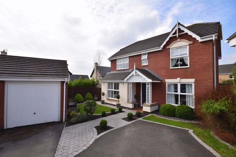 4 Bedrooms Property for sale in 8 Llys Bronwydd, Broadlands, Bridgend