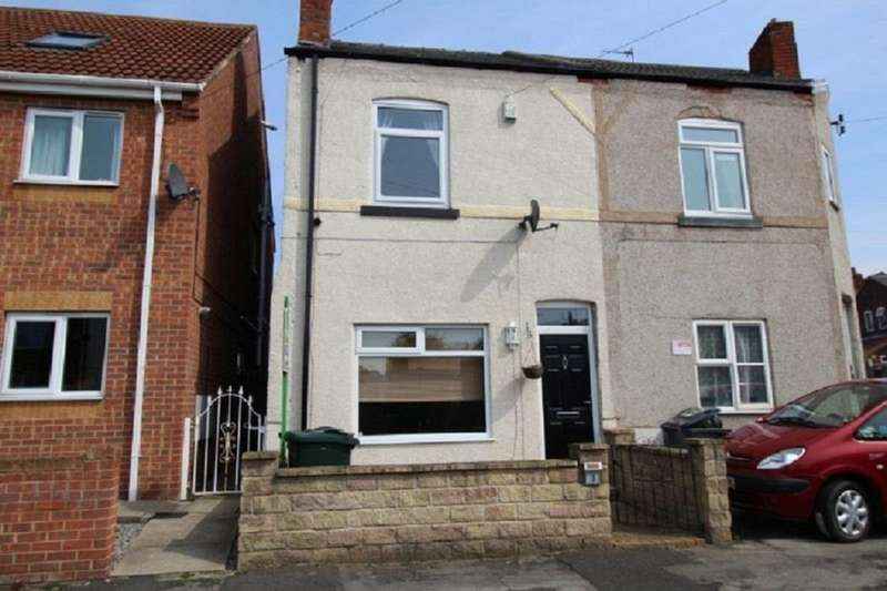 2 Bedrooms Semi Detached House for rent in Clarence Street, Dinnington, Sheffield, S25
